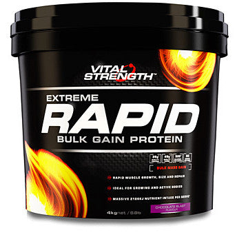 VITAL STRENGTH RAPID WEIGHT GAINER 4KG CHOCOLATE - Natural Food Barn