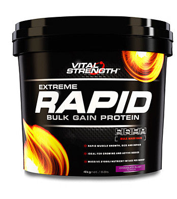 VITAL STRENGTH RAPID WEIGHT GAINER 4KG VANILLA - Natural Food Barn
