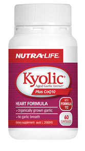 NUTRALIFE KYOLIC GARLIC AND COQ10 60CDELETED - Natural Food Barn
