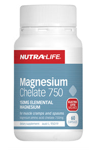 NUTRALIFE MAGNESIUM CHELATE 60C DELETED - Natural Food Barn