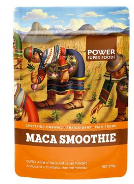 POWER MACA/CACAO SMOOTHIE 250G - Natural Food Barn