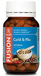 FUSION Cold Flu 60T - Natural Food Barn