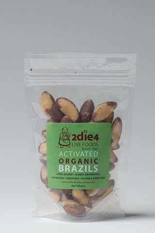 2DIE4 ACTIVATED BRAZIL NUTS 120GM - Natural Food Barn
