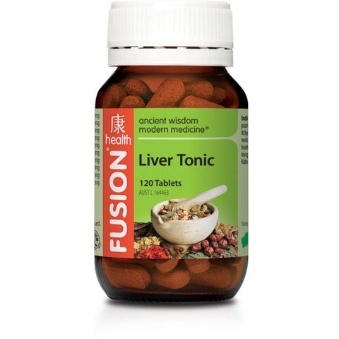 FUSION Liver Tonic 60tabs - Natural Food Barn