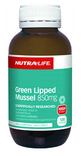 NUTRALIFE GREEN LIPPED MUSSEL 120C - Natural Food Barn