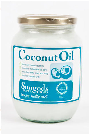 SG COCONUT OIL 500ML - Natural Food Barn