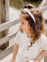Load image in Gallery view, Cotton diadem Emma white