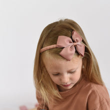 Load image into Gallery view, Diadem with large bow pecan