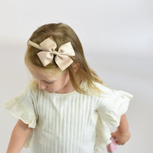 Loading Image into Gallery View, Champagne Big Bow Diadem