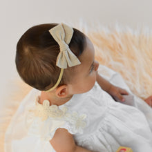 Loading image into Gallery view, Cotton hair band Emma autumn tan