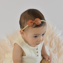 Load Image into Gallery View, Leatherette Hair Band Amy Copper
