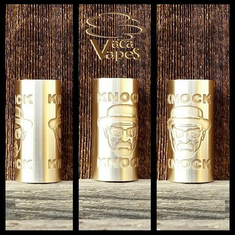 Custom Etched Brass Able Mod Sleeve. One of a Kind. Sleeve ONLY #0013