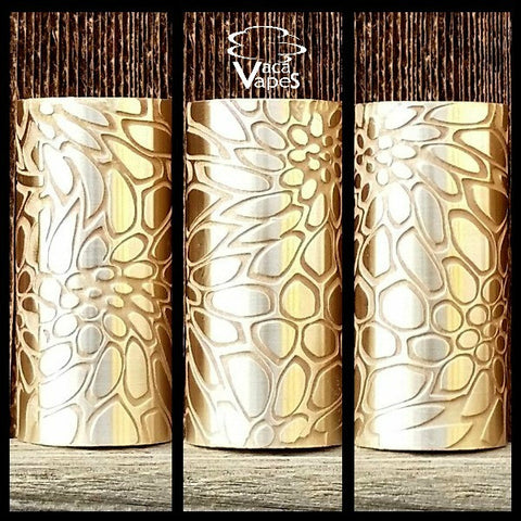 Custom Etched Brass Able Mod Sleeve. One of a Kind. Sleeve ONLY #0015
