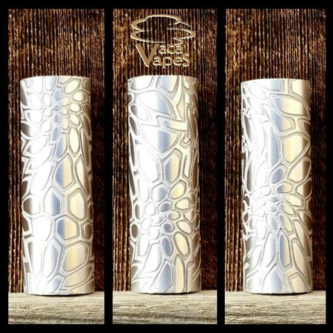 Custom Etched Aluminum Limitless Mod Sleeve. One of a Kind. Sleeve ONLY #0037