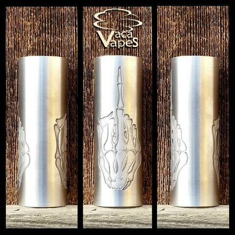 Custom Etched Aluminum Limitless Mod Sleeve. One of a Kind. Sleeve ONLY #0038