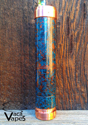 Custom One of a Kind Forced Patina Chi You Clone Mechanical Mod