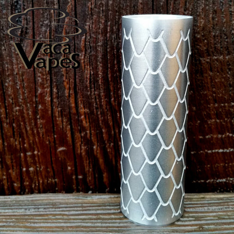 Custom Etched Aluminum Limitless Mod Sleeve. One of a Kind. Sleeve ONLY #0018
