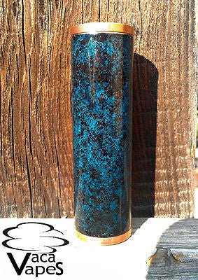 Custom One of a Kind Forced Patina 26650 Mutant Clone Mechanical Mod