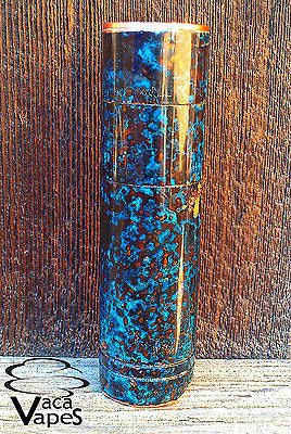 Custom One of a Kind Forced Patina 4nine Clone Mechanical Mod