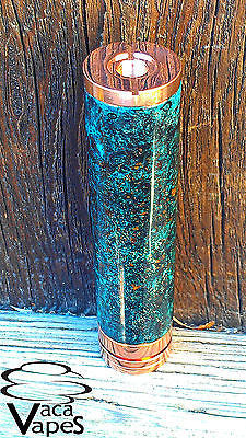 Custom One of a Kind Forced Patina Caravel Clone Mechanical Mod