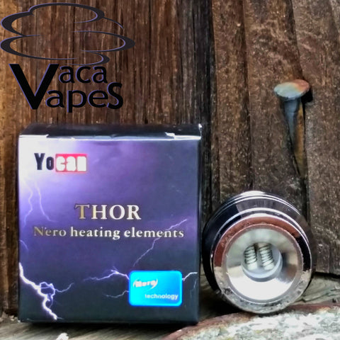 Replacement Ceramic Rod and Titanium Coil Heads for Yocan Thor and Beta