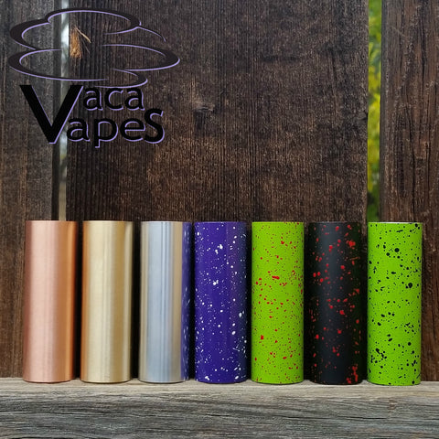 Solid Metal Or Splatter Painted Sleeves for Limitless mod by VacaVapes