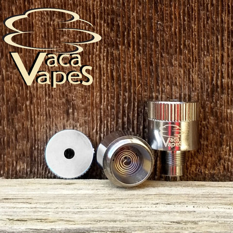 Tumbler Type 5 Pancake Coils for the Cannon v1.2 and Railv1.0 Atomizer