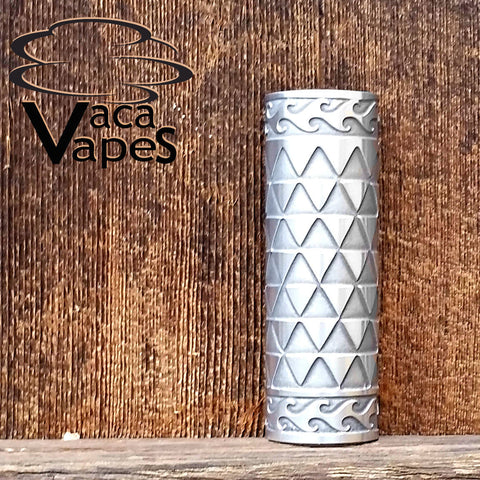 Custom Etched Aluminum Limitless Mod Sleeve. One of a Kind. Sleeve ONLY #0004