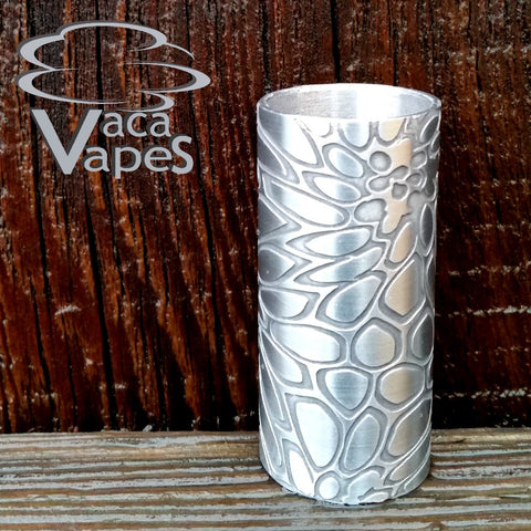 Custom Etched Aluminum Able Mod Sleeve. One of a Kind. Sleeve ONLY #0004