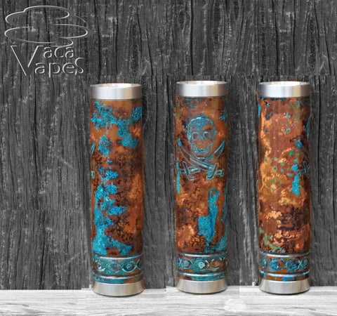 One of a Kind Forced Patina 18650 Corsair Mod Clone #512