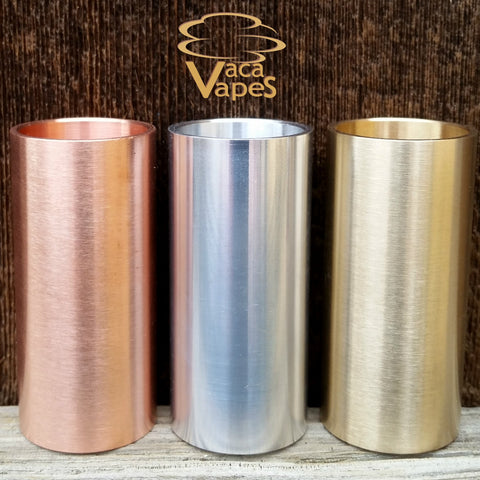 Solid Copper, Brass or Aluminum Sleeves for Able Mod (Not Included)