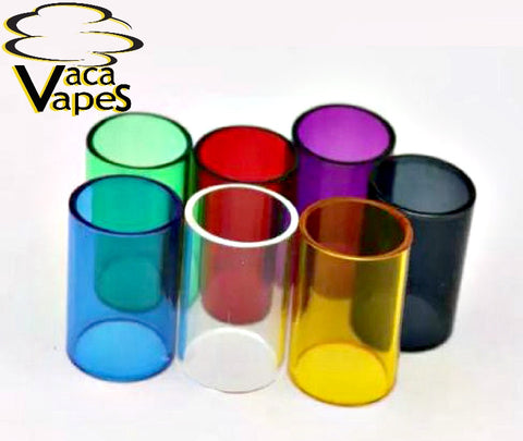 Replacement Glass Tube for Aspire Atlantis 2 Many Colors