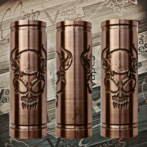 Custom Etched SLEEVE for Limitless Mods by VacaVapes in Copper, Brass aluminum #L0003