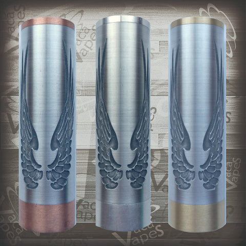 Etched SLEEVE for Limitless Mods by VacaVapes in Copper, Brass aluminum #L0004