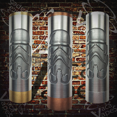 Etched SLEEVE for Limitless Mods by VacaVapes in Copper, Brass aluminum #L0010