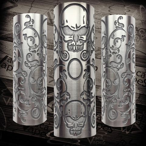 Etched SLEEVE for Limitless Mods by VacaVapes in Copper, Brass aluminum #L0025