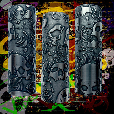 Etched SLEEVE for Limitless Mods by VacaVapes in Copper, Brass aluminum #L0012