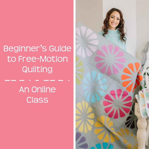 beginner's guide to free motion quilting