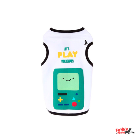 Tank Top BMO Let´s Play Games
