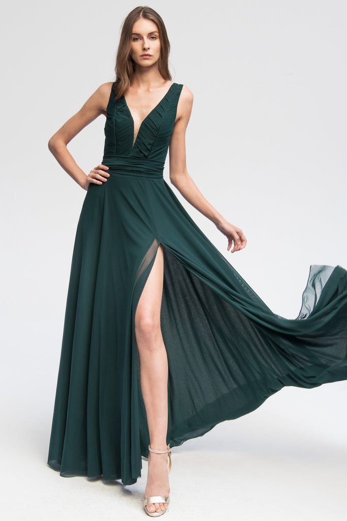 Emerald Dress Erica - Angelika Jozefczyk