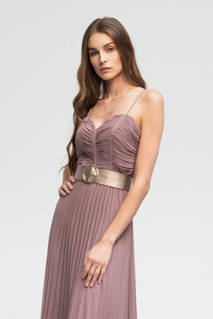 PREORDER Pleated Dress Philo