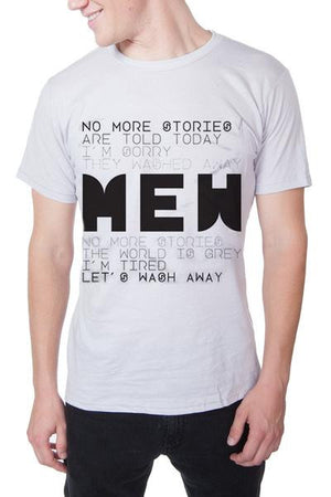 Mew No More Stories Tee White