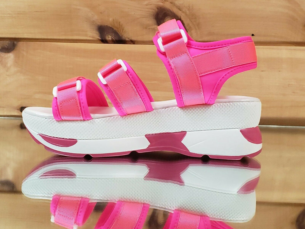 Pazzle Summer Sneaker Harness Sandals Neon Colors Yellow Lime Orange Pink 7-11