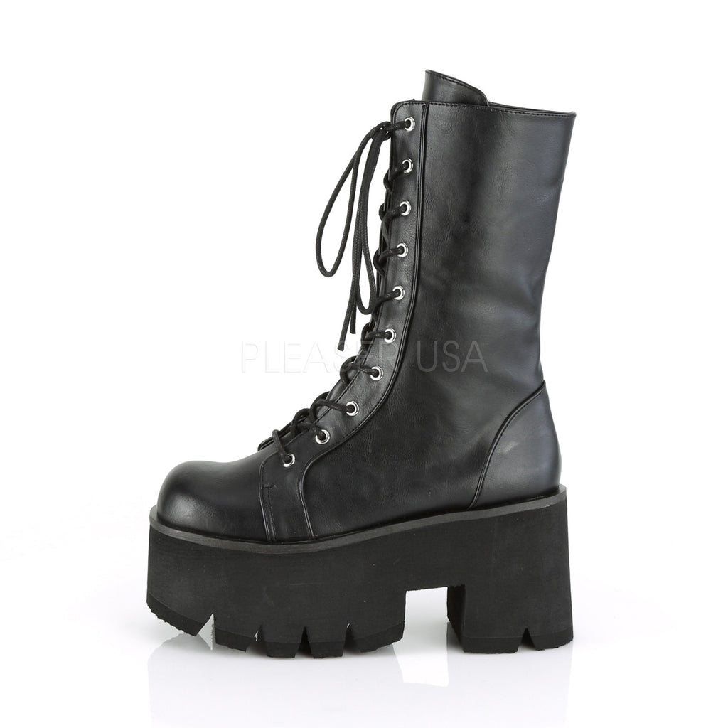 42a64f82c Ashes 105 Platform Lace Up Mid-Calf Boot 3.5