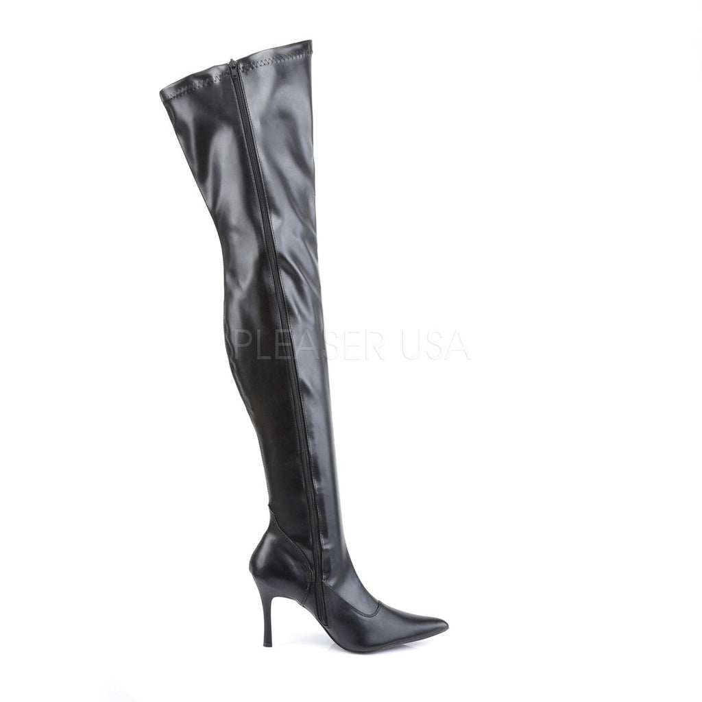 "Lust 3000 Stretch OTK Thigh Boot 3.5"" High Heel Boots 6-12"