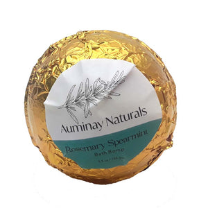 Auminay Rosemary Spearmint Bath Bomb