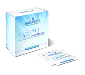 Cleaning Wipes / 30 per box / with brush - Earasers by Persona Medical