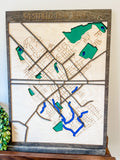 Three Dimensional Map of Westfield, NJ