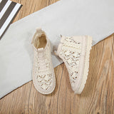 Women's Breathable Mesh Summer Shoes Lace Walking Shallow New Solid Non Slip Casual Shoes 2020