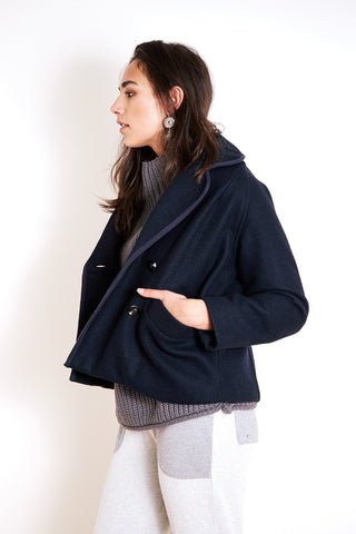 Andrea Jacket Short Navy